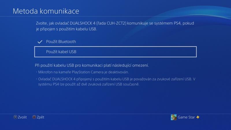 Klávesnice a myš na PS4. Návod na připojení 06
