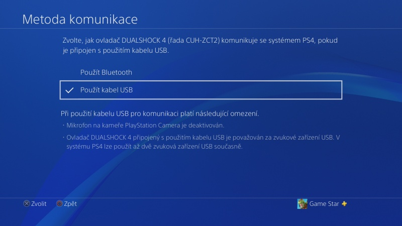 Klávesnice a myš na PS4. Návod na připojení 07