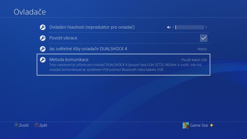 Klávesnice a myš na PS4. Návod na připojení 08