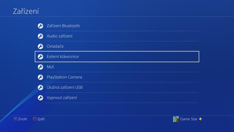 Klávesnice a myš na PS4. Návod na připojení 09