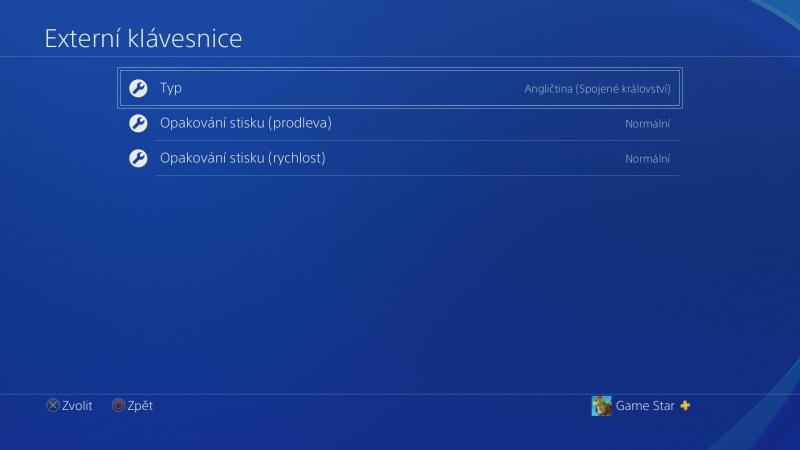 Klávesnice a myš na PS4. Návod na připojení 10