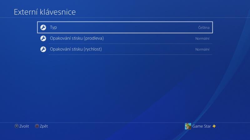 Klávesnice a myš na PS4. Návod na připojení 12