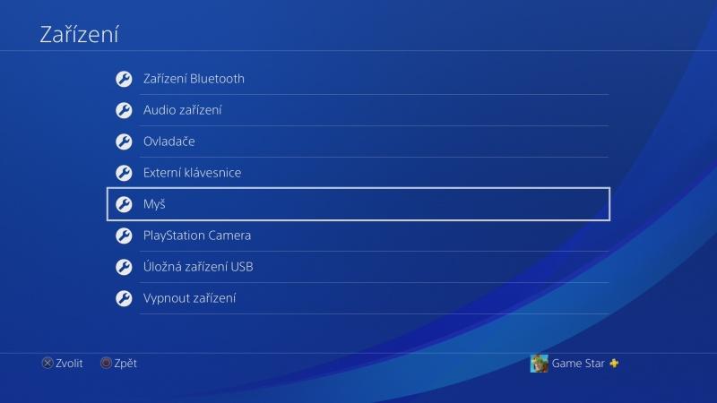 Klávesnice a myš na PS4. Návod na připojení 13
