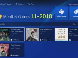 Ps Plus hry listopad 2018