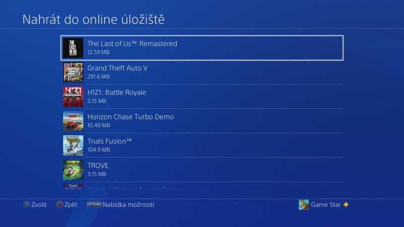 PS4 záloha dat 10
