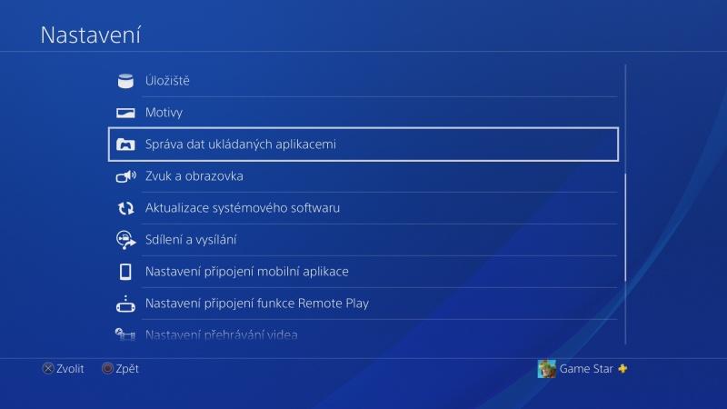 PS4 záloha dat 02