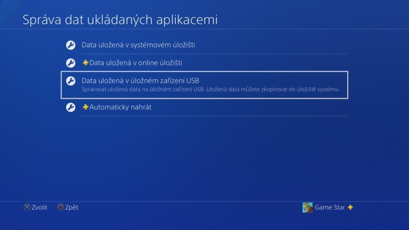 PS4 záloha dat 05