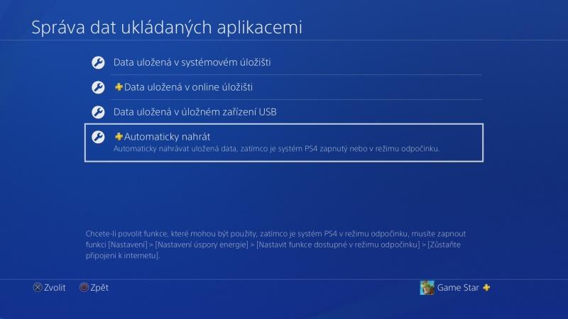 PS4 záloha dat 06