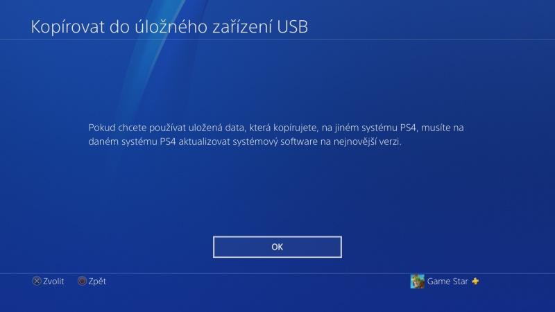 PS4 záloha dat 09
