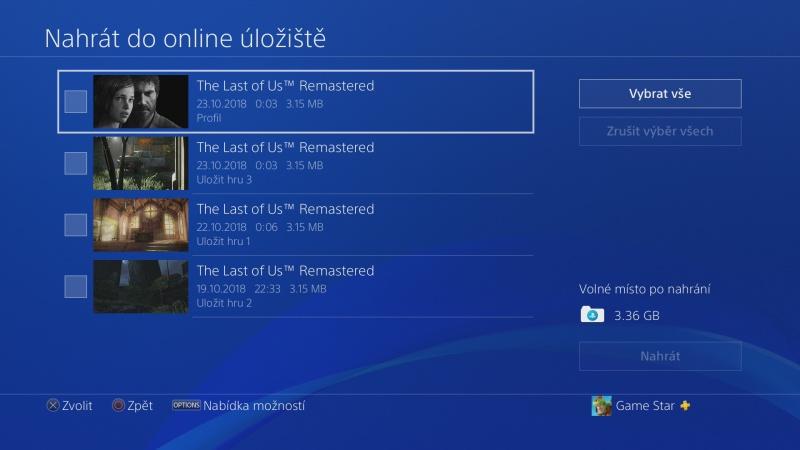 PS4 záloha dat 11