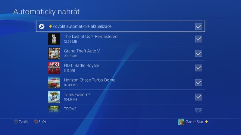 PS4 záloha dat 12