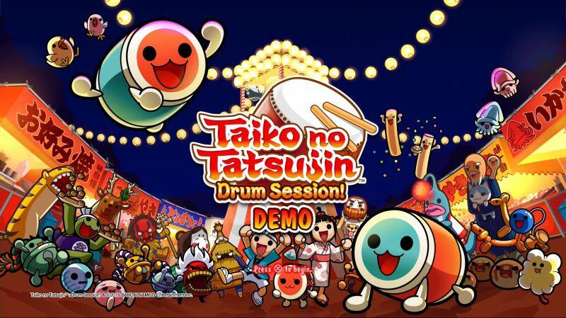Taiko no Tatsujin: Drum Session! PS4 demo