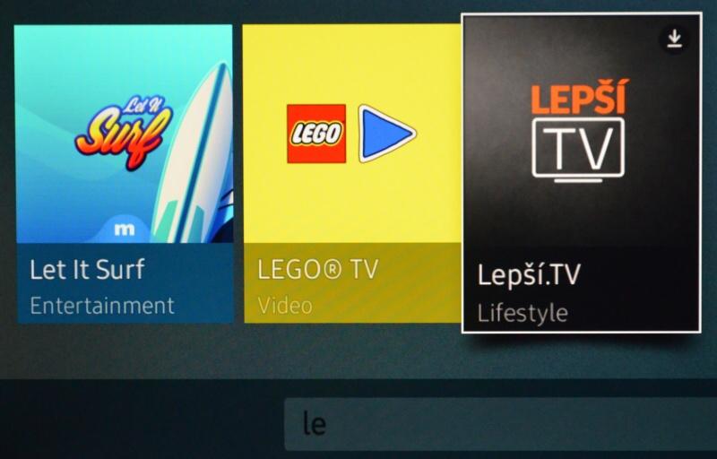 Lepší TV je aplikace 01