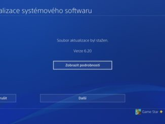 PS4 aktualizace 6.20 - Playstation 4 firmware update 3