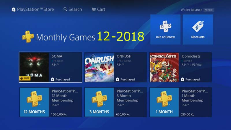 ps plus ps4 monthly games 12 – 2018