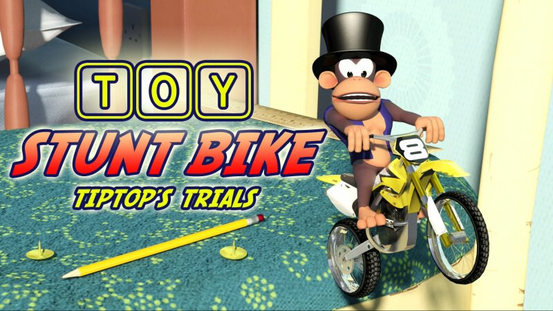 Toy Stunt Bike: Tiptop's Trials (Demo) PS4