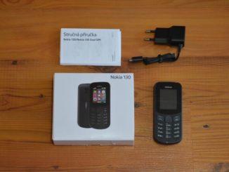 Nokia 130 - ideální mobilní telefon pro seniory