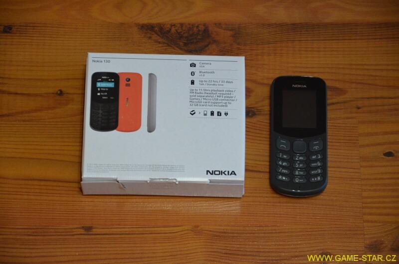 Nokia 130 - ideální mobilní telefon pro seniory 2