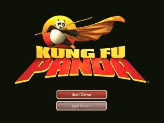 Kung Fu Panda Xbox 360 demo