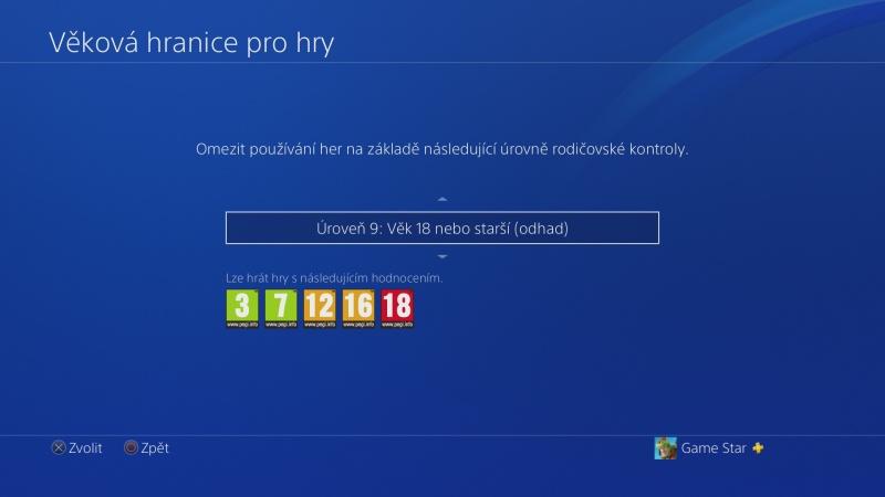 Rodičovská kontrola PS4 - 08