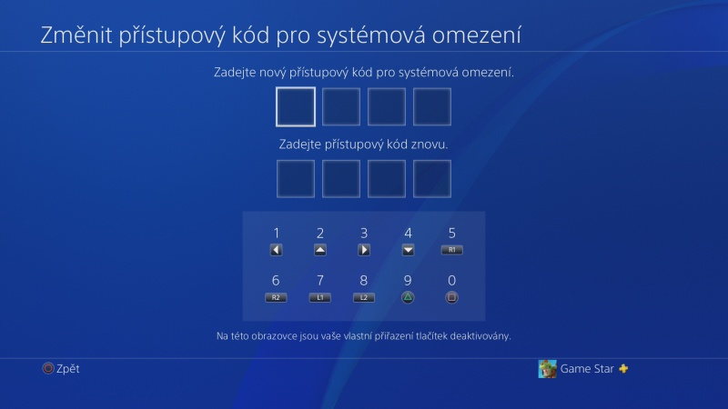 Rodičovská kontrola PS4 - 11