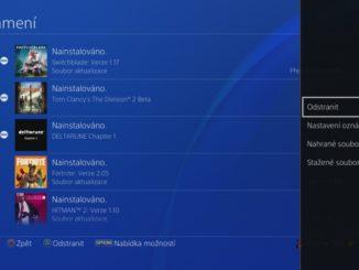 Jak vymazat zprávy - oznámení v Playstation 4 - 3