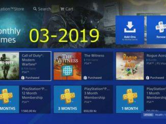 Ps Plus hry březen 2019