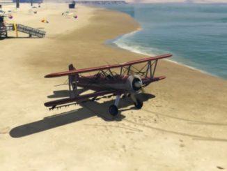 GTA 5 cheat PS4 Letadlo (Duster)