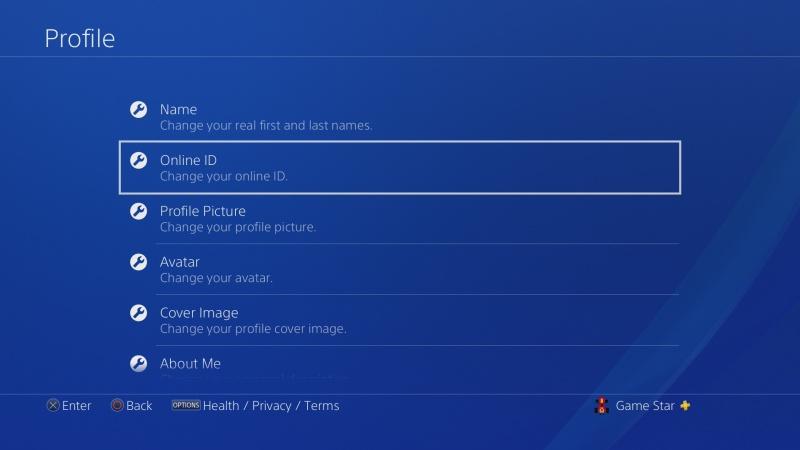 Jak změnit jméno účtu na PS4 - 4