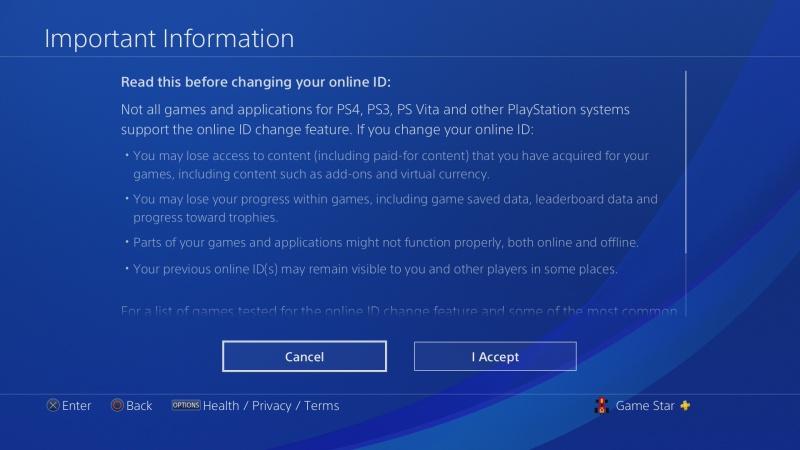 Jak změnit jméno účtu na PS4 - 5