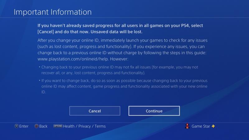 Jak změnit jméno účtu na PS4 - 6