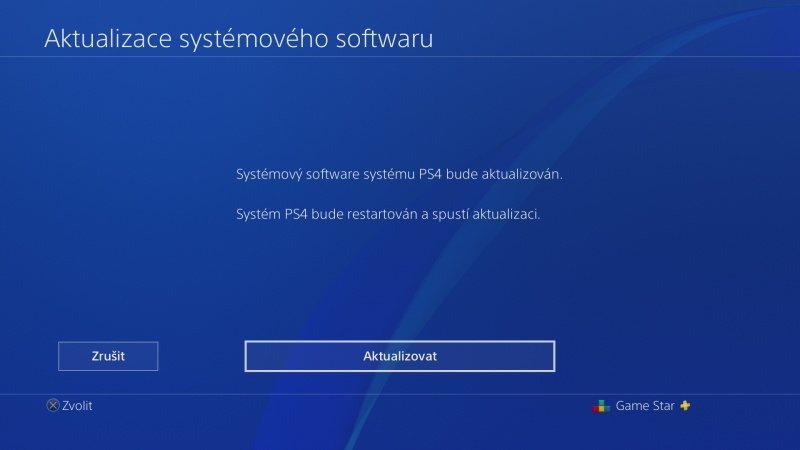 PS4 system software update 6.70 - 2