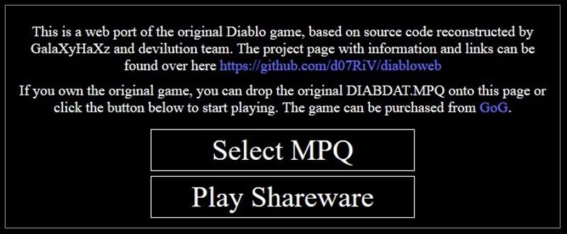 Diablo 1 online - 2