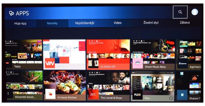 Mall.tv aplikace Samsung 2