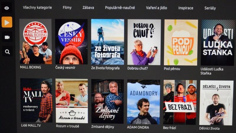 Mall.tv aplikace Samsung 5