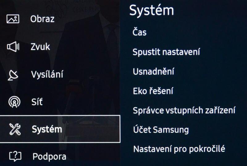 Samsung TV zavirovana - kontrola