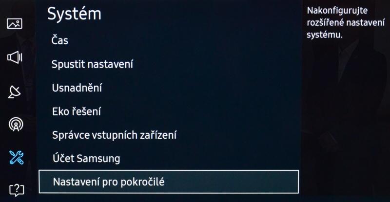 Samsung TV zavirovana - kontrola 2