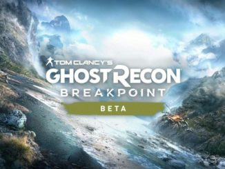 Ghost Recon Breakpoint PS4 beta