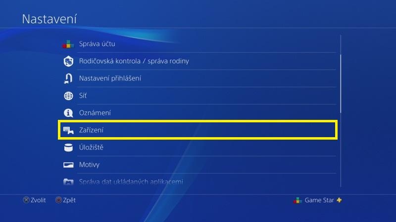 Jak vypnout vibrace na PS4 ovladači 2