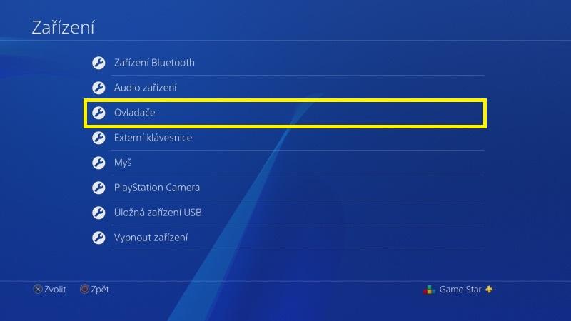 Jak vypnout vibrace na PS4 ovladači 3