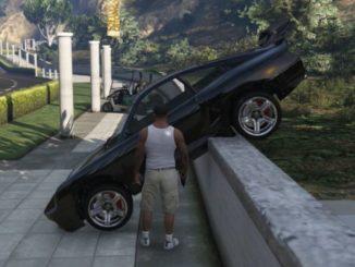 GTA 5 cheat PS4 Auto Comet