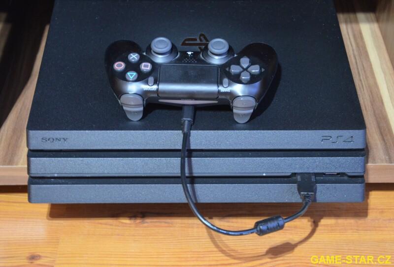 Jak nabíjet ovladač k PS4