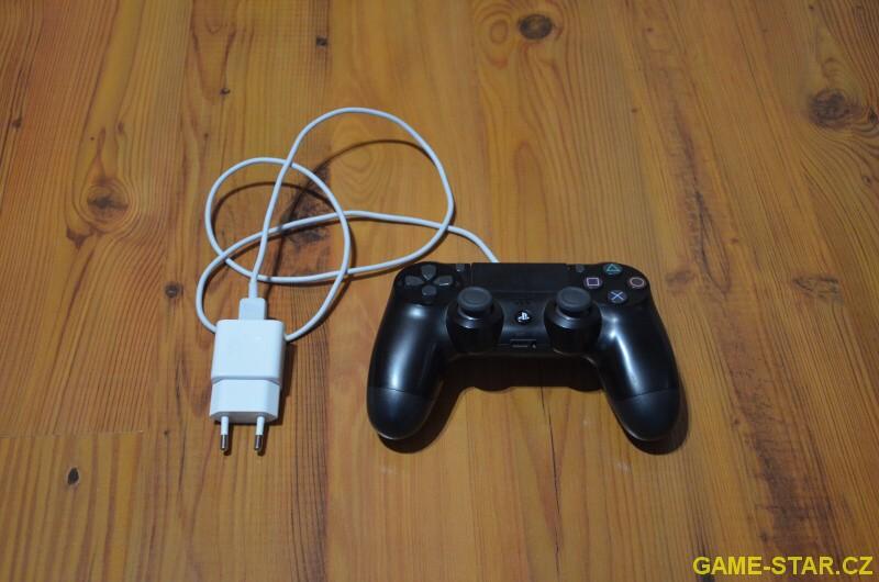 Jak nabíjet ovladač k PS4 - 4