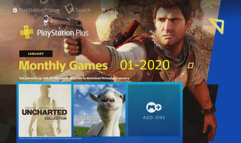 Ps Plus hry leden 2020