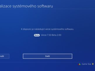 PS4 system software 7.50 beta 2.0