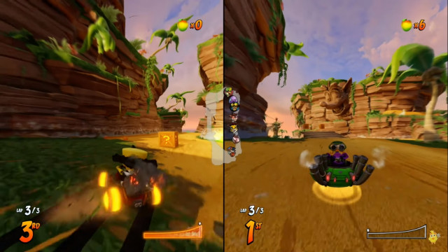 Crash team racing: Nitro-Fueled 2