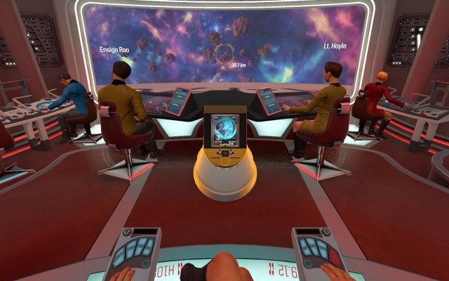 Star Trek Brigde Crew