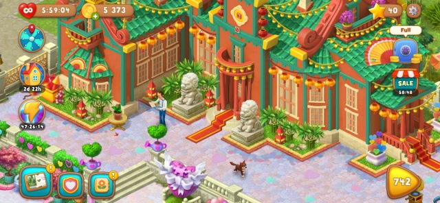 Gardenscapes hra 2