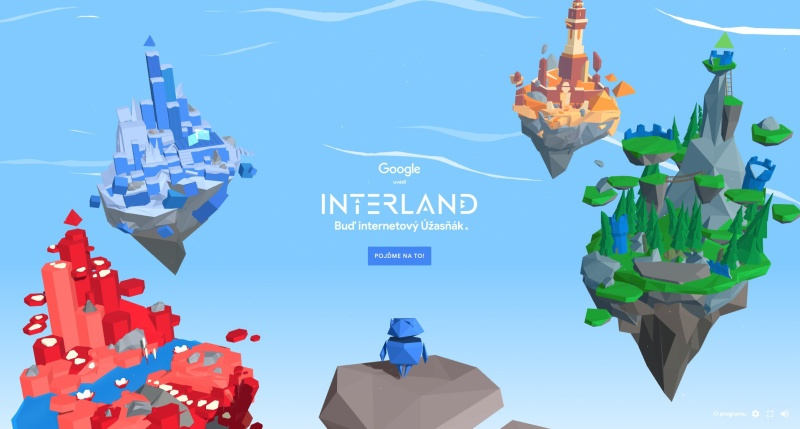 Interland - hra od Google