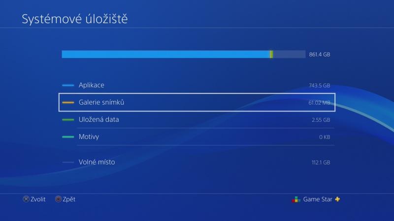 Jak nahrát fotky a videa z PS4 na USB disk 3